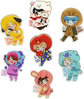 BTS Pins KPOP BTS Bangtan Boys Brooch Pin Badge Accessories For Clothes Hat Backpack Decoration