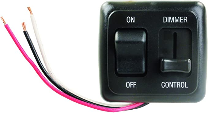 5X Mini In-Line LED Strip Light Dimmer Controller with On//Off Switch Caravan Tu