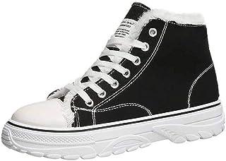 ZOSYNS Damesschoenen, winter, zeildoekschoenen, katoenen schoenen, modieus, casual, warm gevoerd, comfortabel, antislip, w...