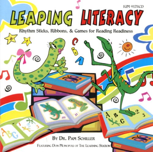 Leaping Literacy: Rhythm Sticks, Ribbons, and Games for Reading Readiness