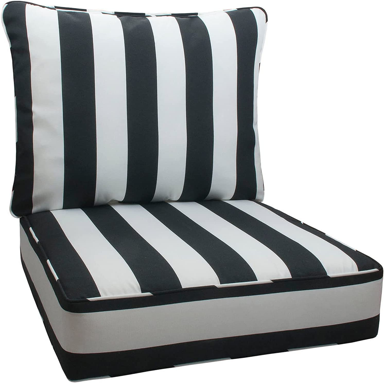 IN4 Care Special price for a limited time Outdoor Patio Deep Seat Back shop and All Weather Cushions