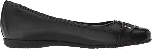 Black Soft Burnished Leather