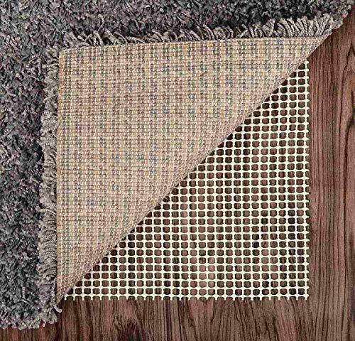 Rutschfeste Matten- und Teppichunterlage 100 x 150 cm Teppichauskleidung Waschbare Mattenunterlage Geeignet für Holzmarmorböden, Schubladen, Regale, Tablett
