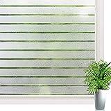 Yuragim Graz Design - Pellicola protettiva per finestra, autoadesiva, anti-UV, statica e anti-UV, senza colla, per bagno, camera da letto, ufficio, cucina, soggiorno, 45 x 300 cm