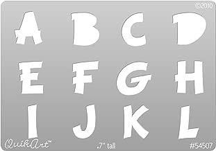 QuikArt - Med. Comic Capitals Alpha - 3 pc set