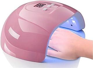 Lxsensp Lámpara Secador de Uñas 54W de Secado rápido de detección de uñas fototerapia Secadora Nails Grasa Pegamento Jiao Ojo de Gato Rosado plástico fototerapia LED de la lámpara de calefacción