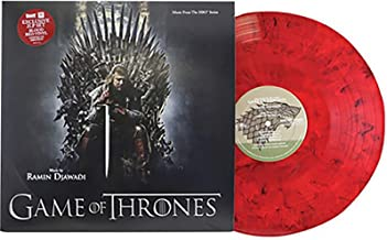 Game Of Thrones - Exclusive Limited Edition Blood Red Colored 2x Vinyl LP #/1000 [Condition-VG+NM]