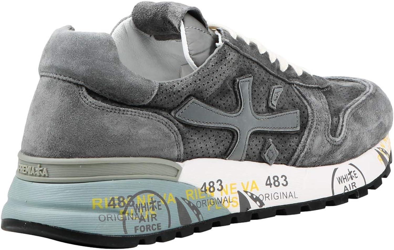 PREMIATA Sneakers Mick 3821 Uomo MOD. Mick Grigio Chiaro
