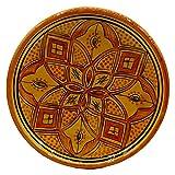 Etnico Decoración Plato Cerámica Pared Caudal Decorativo Marruecos 1103201004