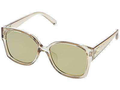 Le Specs Athena Alt Fit (Stone/Gold Mirror) Fashion Sunglasses
