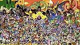 ERTYG Puzzles 1000 Piezas Puzzle Creativo Puzzle Colección Paper Dragon Ball * Juego Creativo Rompecabezas Arte DIY Juguetes