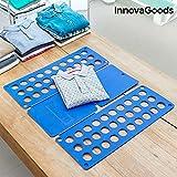 InnovaGoods | Doblador de ropa | polipropileno | Azul