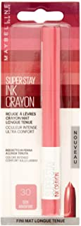 Maybelline New York Superstay Ink - Lápiz de labios mate, Rosa (30 Seek Adventure), 1 Pieza