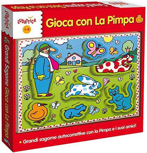 Ludattica 51403 - Pimpa Legno Grandi Sagome