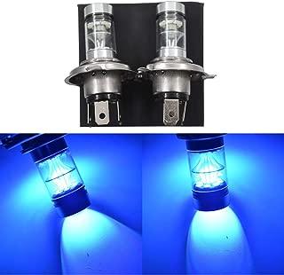 LABLT 2 Pack H4 9003 100W 8000K Ice Blue LED Headlights Bulb for Suzuki GSXR 1000 01-02 2001 2002