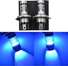 LABLT 2 Pack H4 9003 100W 8000K Ice Blue LED Headlights Bulb for Suzuki GSXR 1000 01-02 2001 2002