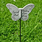 Thinking Of Special Dad Plaque Papillon pour tombe Mémorial Hommage Stick