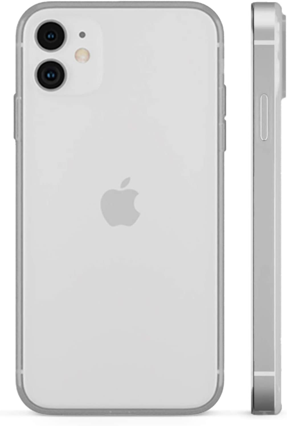 PEEL Ultra Thin iPhone 12 Mini Case, Clear Soft - Minimalist Design   Branding Free   Protects and Showcases Your Apple iPhone 12 Mini