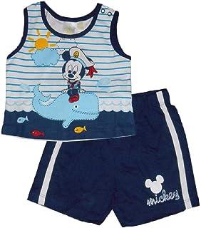 9a7cc11663 Disney Mickey Mouse - Completo t-Shirt e Pantaloncini per Neonato