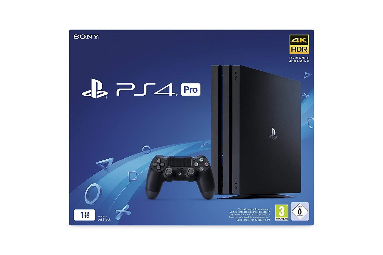 Sony PS4 PRO Negra 1TB consola Sony Playstation 4 PRO 7216B: Amazon.es: Videojuegos