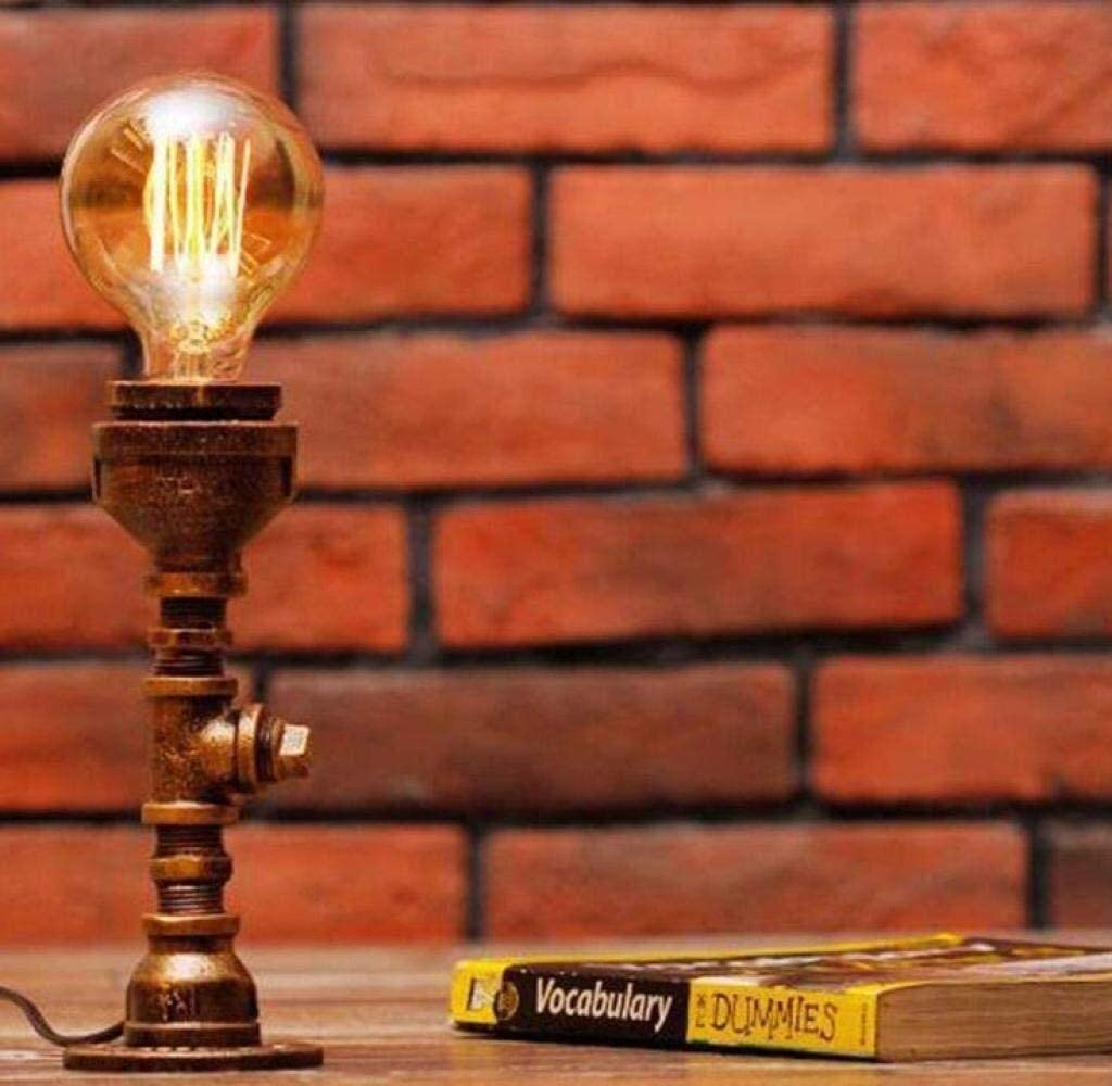 Jzhi Bowose Lamp Special price for a limited time Desk Retro Style price Light Industrial Plumbing