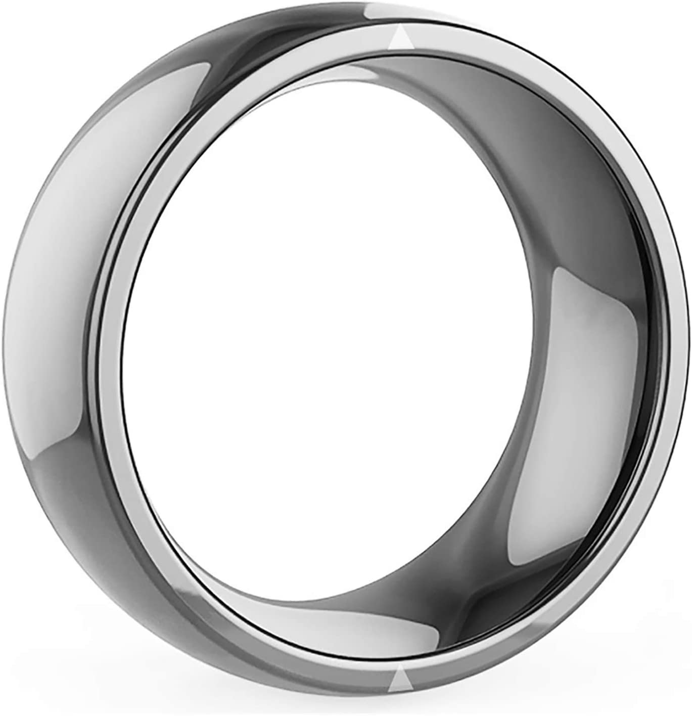 GTJXEY Digital Rings, NFC Smart Ring for All Android Windows NFC Cellphone Mobile Phones, APP Lock, URL Sharing, Private Message (Color : Size10)