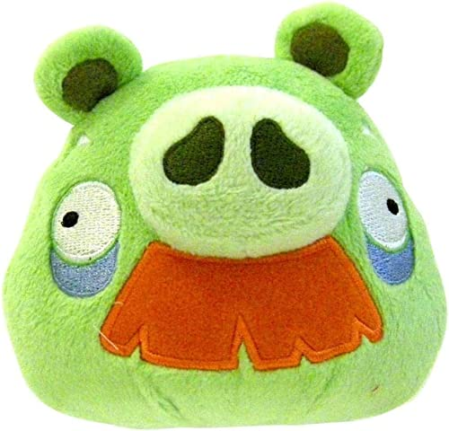 Angry Birds 5  Moustache Pig Plush Officially Licensed