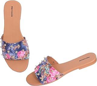FINE FASHION Flat Sandal For Women And Girls