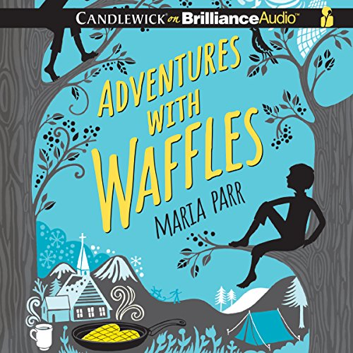 Adventures with Waffles audiobook cover art