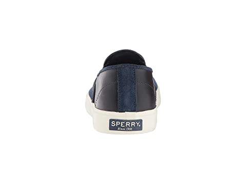 Slip Leather BlackBurgundyNavy Captain's On Sperry 5qn4vSq