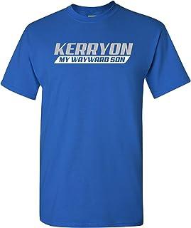 Kerryon My Wayward Son - Detroit Football Motor City Michigan T Shirt - 2X-Large - Royal