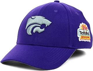 Nike Kansas State Wildcats NCAA Legacy91 Swoosh Flex Dri-Fit NKTS Fiesta Bowl Bound Cap HAT