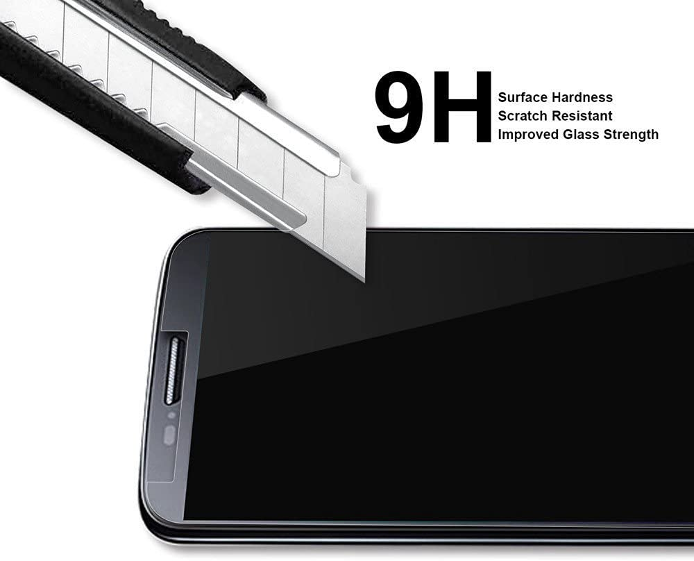 (2 Pack) Supershieldz Designed for Samsung Galaxy J8 (2018) Tempered Glass Screen Protector, Anti Scratch, Bubble Free