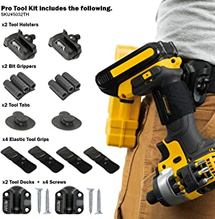 Spider Tool Holster - PRO Tool KIT - 12 Piece Kit for Storing and Organizing Tools