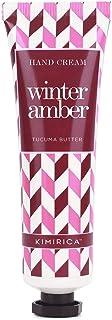Kimirica Winter Amber Tucuma Butter Hand Cream, 100% Vegan & Paraben Free, (30ml)