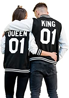 king and queen varsity jackets