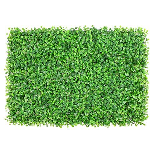 Wurzelnackte Grün Hedging Künstliche Boxwood Panels Pflanzen Privacy Screen Home Decor 12 Stück Topiary Hecken Baum Pflanzen (Farbe : Grün, Größe : 60x40cm)