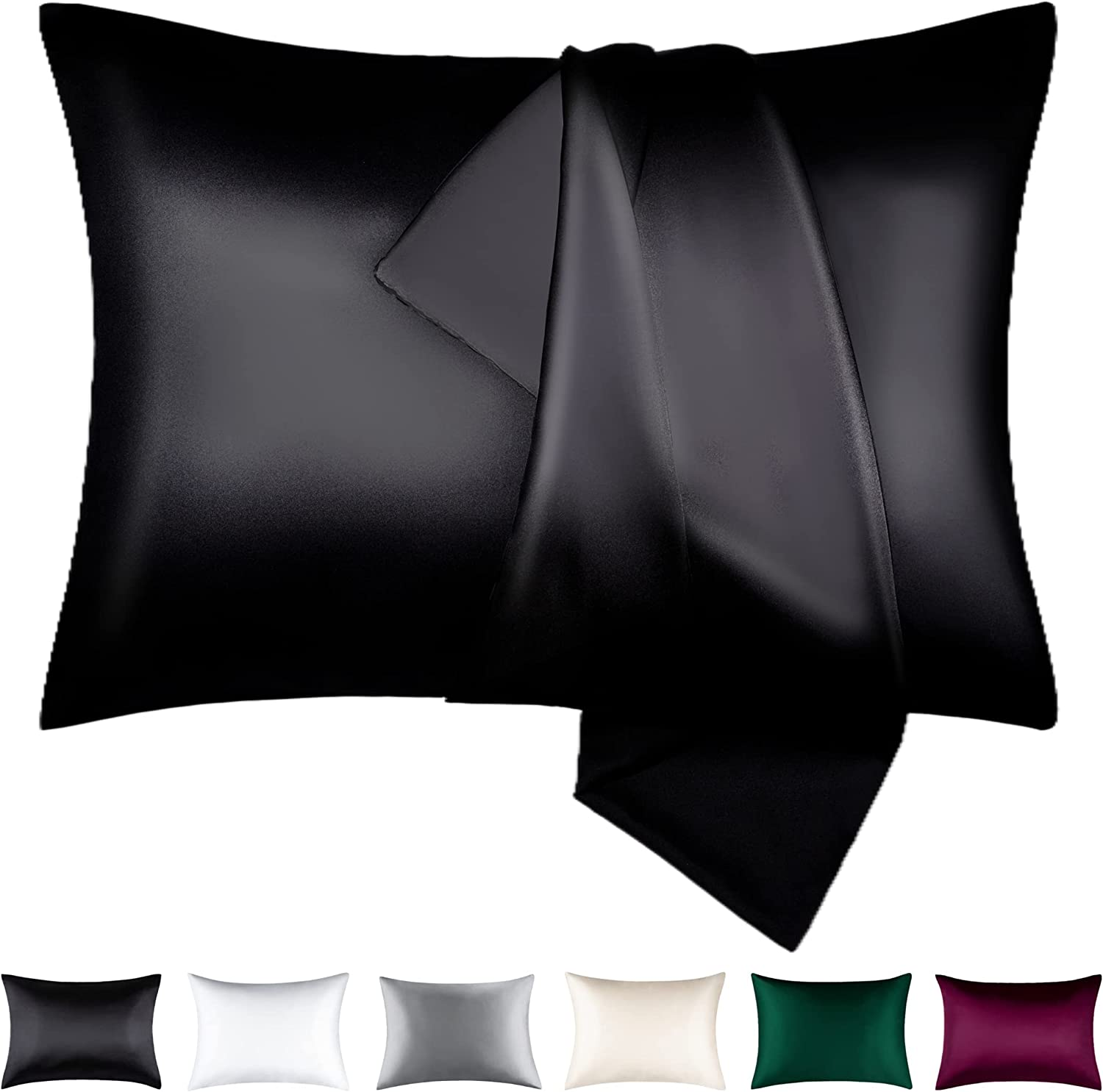 BEIJOEY 100% Mulberry A surprise price is realized Silk Pillowcase Set of and Skin 2 Hair Rapid rise for