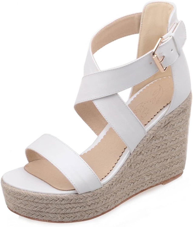 Fanyuan Fanyuan Fanyuan Classi Ladies Wedges Sandals Open Toe kvinnor39;S Platform Sandals  Fri och snabb leverans tillgänglig