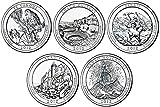 2012 P, D BU National Parks Quarters - 10 coin Set...