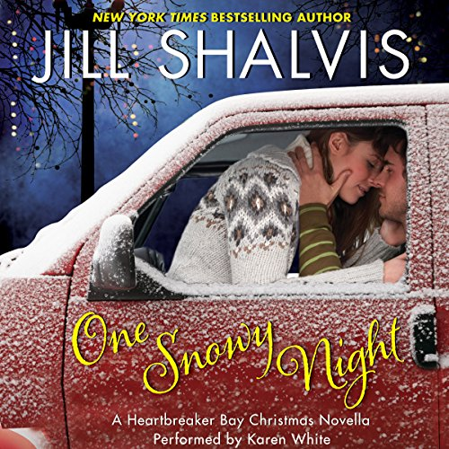 One Snowy Night audiobook cover art