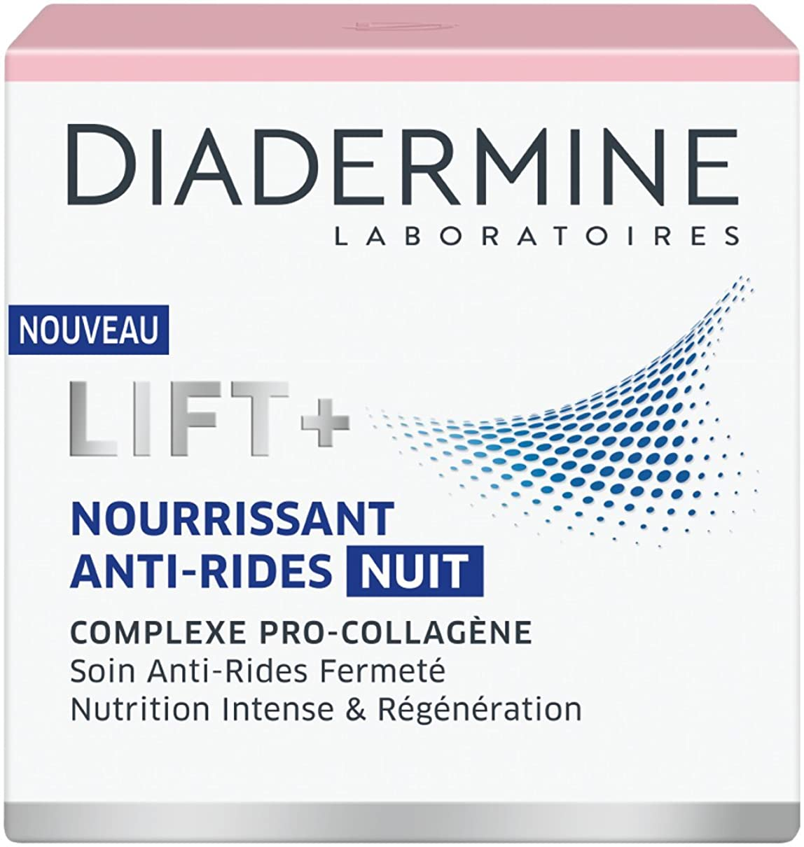 進化するお風呂部分的Diadermine LIFT+ Nutrition Regenerating Anti-Wrinkle Night Cream with Pro-Collagen & Pro-Lipids 50ml by Diadermine
