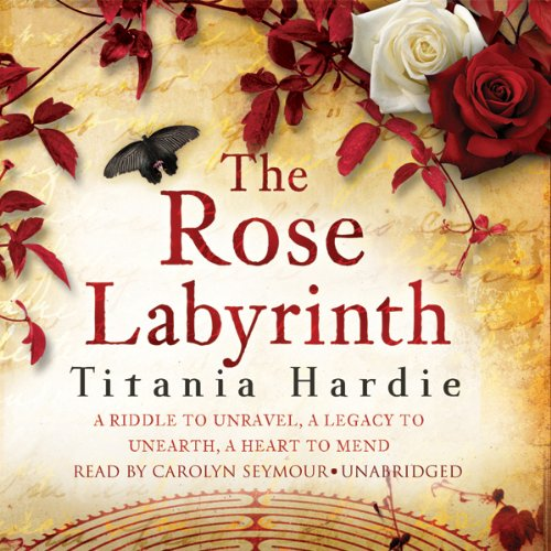 The Rose Labyrinth audiobook cover art