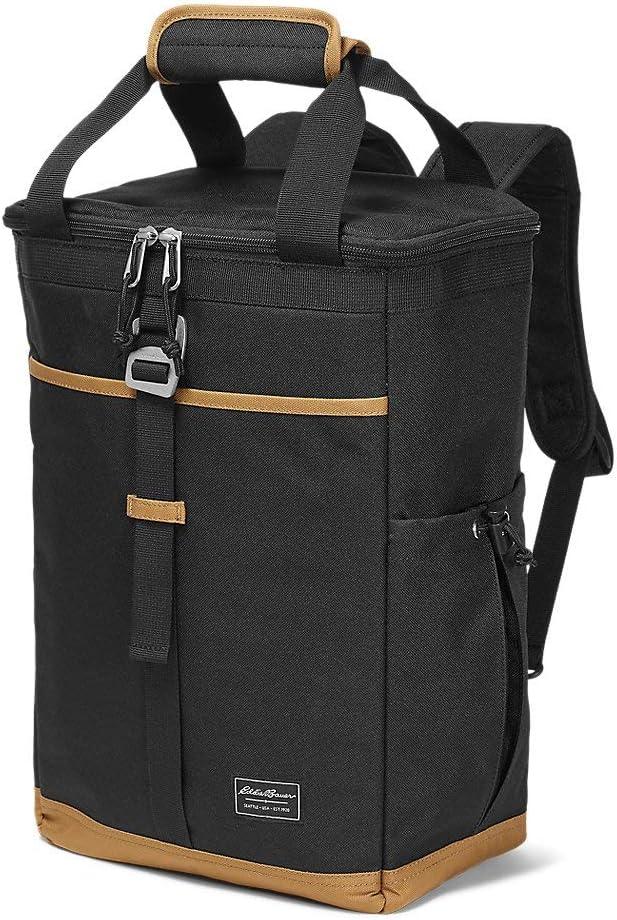 Eddie Bauer OFFer Unisex-Adult Bygone Backpack Black O Denver Mall Regular Cooler