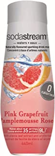 SodaStream Pink Grapefruit Zero Calorie Syrup, 14.8 Fluid Ounce