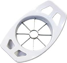 "Chef Craft 20021 Apple Corer/Slicer, Stainless Steel, 7"", White"