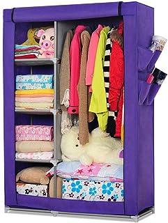 CXVBVNGHDF Armoire en Tissu Armoire à vêtements, Penderie Portable Penderie Penderie Penderie Debout Armoire en Tissu Pend...