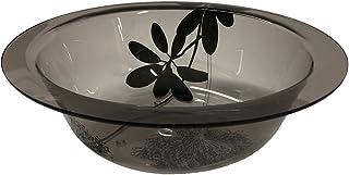センコー サリナ ウォッシュボール 洗面器 ブラウン 約 直径28×高8.5cm 55222