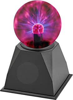 Kicko Plasma Ball - Nebula, Thunder Lightning, Plug-in Lava Lamp - for Parties, Decorations, Prop, Kids, Bedroom, Home, and
