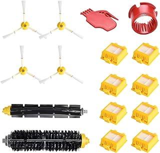 WEYO Kit Recambios Repuestos y Accesorios para Aspiradora iRobot Roomba 700 760 770 772 774 775 776 780 782 785 786 790, Cepillo de Cerdas,Cepillo de Goma, Aparato Limpiado, Filtro etc.
